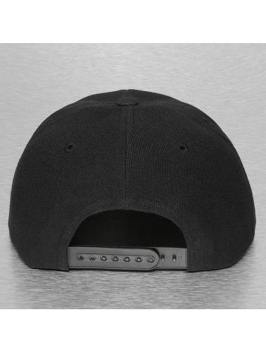 Decky USA Snapback Cap Bandanna in schwarz