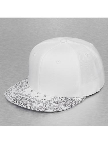 Decky USA Snapback Cap Bandanna in weiß