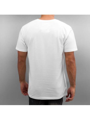 DEDICATED Hombres Camiseta Casette Playa in blanco