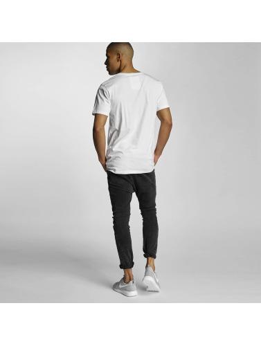 DEDICATED Hombres Camiseta Selfie in blanco