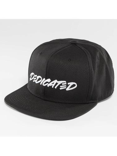 DEDICATED Snapback Cap Marker Black in schwarz