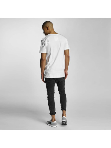 DEDICATED Herren T-Shirt GVO Palms in weiß