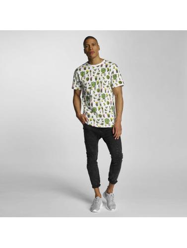 DEDICATED Herren T-Shirt Cactus in weiß