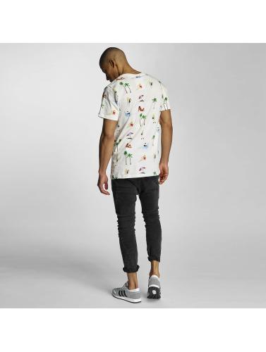 DEDICATED Herren T-Shirt Beach Life in weiß