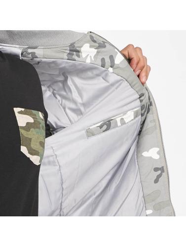 DEF Herren Bomberjacke Camo in camouflage