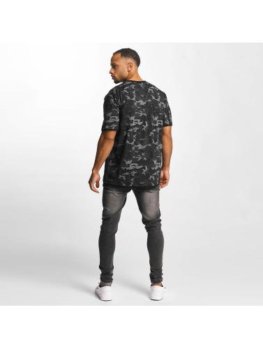 DEF Hombres Camiseta Camo in camuflaje
