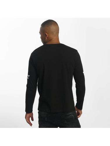 Hombres Longsleeve DEF Camiseta in negro manga de larga ZddqxBCPw