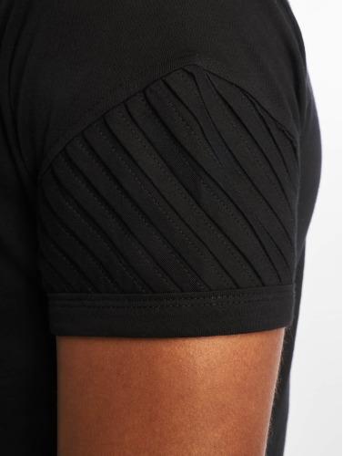 DEF Hombres Camiseta Leats II in negro