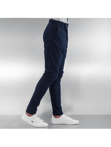 DEF Herren Chino Antifit in blau