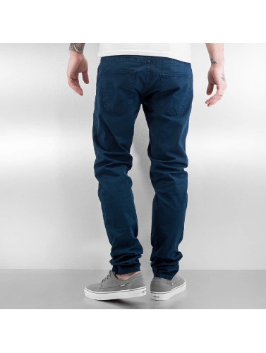 DEF Herren Chino Basic in indigo