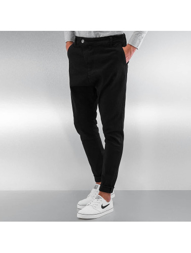 DEF Herren Chino Antifit in schwarz