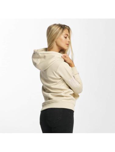 DEF Damen Hoody Upper Arm Pocket in beige