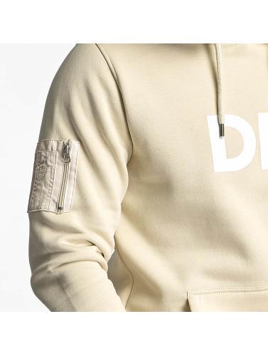 DEF Herren Hoody Logo in beige