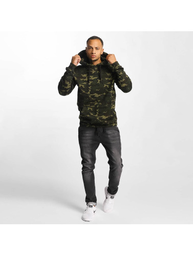 DEF Herren Hoody Upper Arm Pocket in camouflage