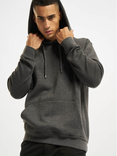 DEF Herren Hoody Upper Arm Pocket in grau