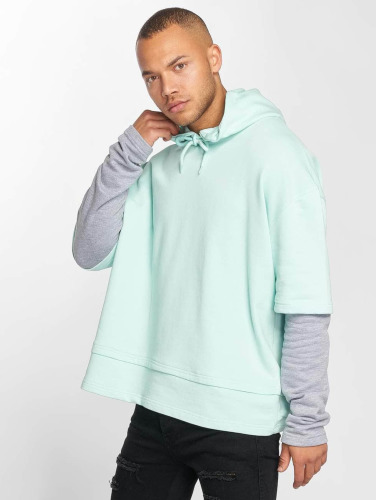 DEF Herren Hoody Layers in grün