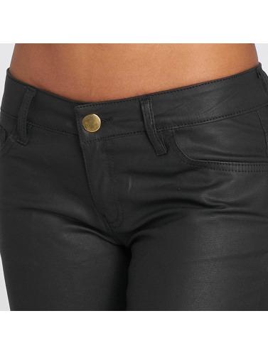 salg CEST Def Leatherlook Kvinner I Svarte Trange Jeans billig salg utmerket dr4G2Slblm
