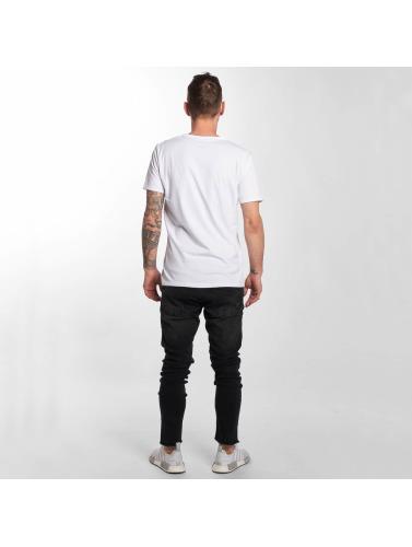 negro ajustado Hombres Fray Jeans in DEF WwRYqFXd
