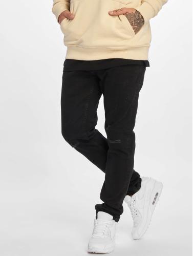 DEF Hombres Jeans ajustado Finley in negro