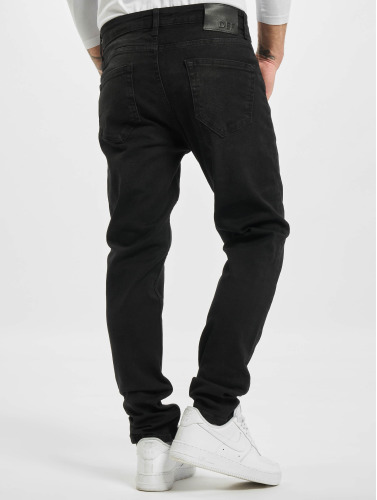 DEF ajustado in negro Rick Hombres Jeans rqESrT