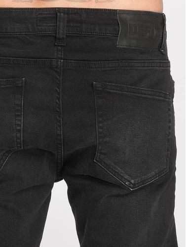 DEF ajustado Holger Hombres negro Jeans in BxO70UB