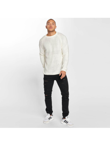 DEF Hombres Jersey Knit in blanco