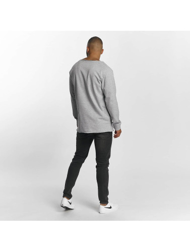 DEF Hombres Jersey Rough in gris