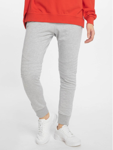 DEF Damen Jogginghose Quilted in grau