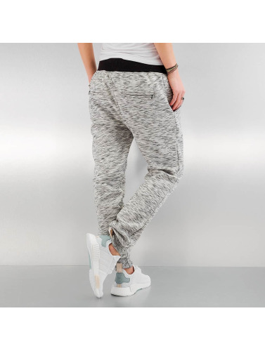 DEF Damen Jogginghose Rose in grau