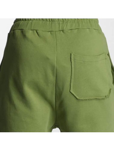 DEF Herren Jogginghose Destroyed in olive