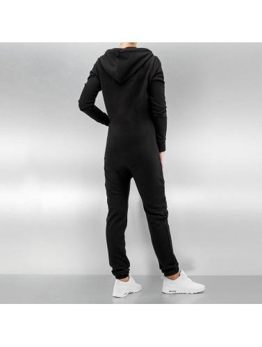 DEF Damen Jumpsuit Basic in schwarz