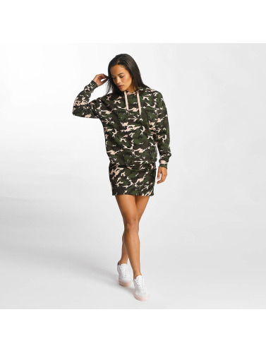 DEF Damen Kleid Camo in camouflage