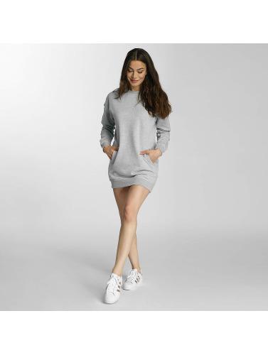 DEF Damen Kleid Lean in grau