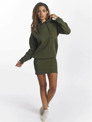 DEF Damen Kleid Cropped in olive