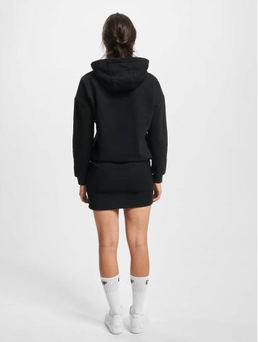 DEF Damen Kleid Cropped in schwarz