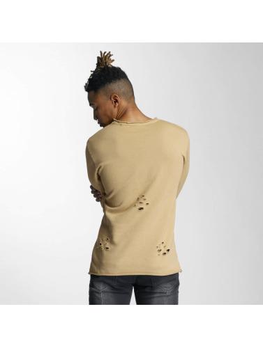 DEF Herren Pullover Tomen in beige