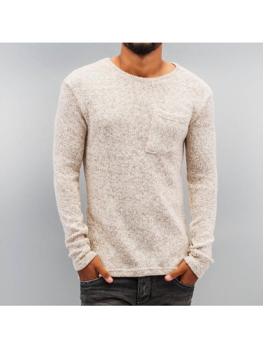 DEF Herren Pullover Knit in beige