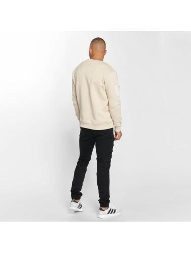 DEF Herren Pullover Sirp in beige