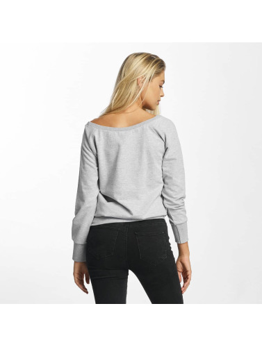DEF Damen Pullover Poppy in grau