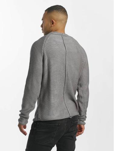 DEF Herren Pullover Knit in grau