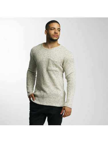 DEF Herren Pullover Knit in olive