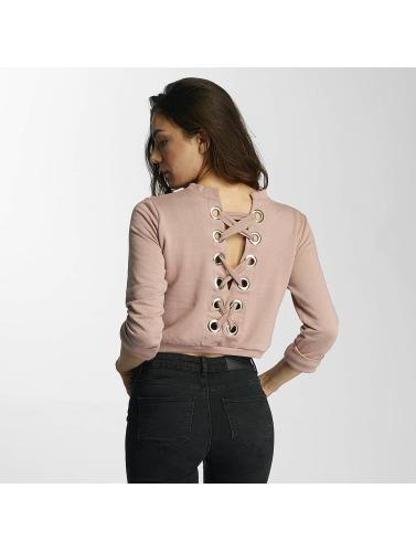 Webseite Günstiger Preis Heißen Verkauf Online-Verkauf DEF Damen Pullover Lace-up in rosa Preiswerte Art Und Stil Billig Erkunden 8KycBtor5L