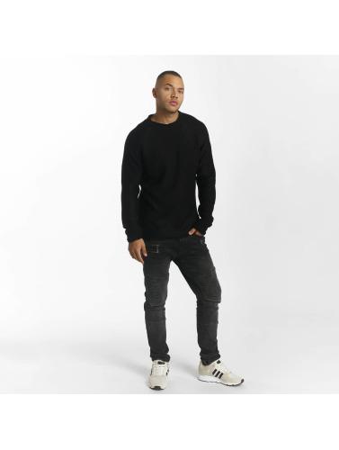 DEF Herren Pullover Knit in schwarz