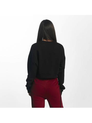 DEF Damen Pullover Belly in schwarz