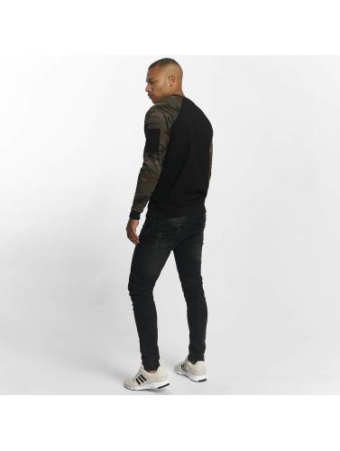 DEF Herren Pullover Matteo in schwarz