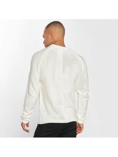 DEF Herren Pullover Knit in weiß