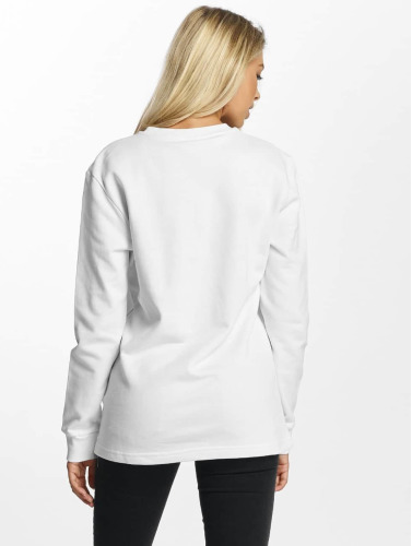 DEF Damen Pullover lace in weiß