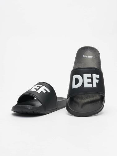 DEF Sandalen <small>    DEF   </small>   <br />   iletten in schwarz