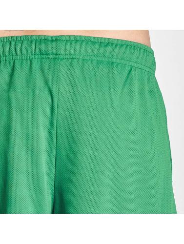 DEF Herren Shorts Mesh in grün