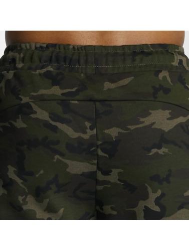 DEF Herren Shorts Sweat in grün